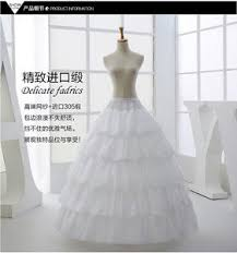 wedding dress underskirt a line organza wedding petticoat bridal underskirt women s