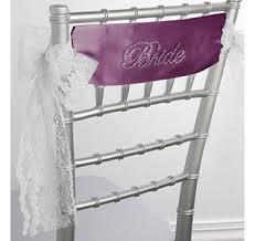 chair sash chair sashes chair banners