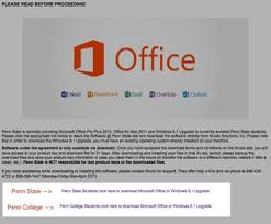 Penn State Its Help Desk Microsoft Kivuto It Knowledge Base