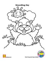 ground hog coloring pages treasure hunt good ideas