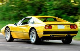 308 gtb for sale 1979 308 gtb yellow for sale rear