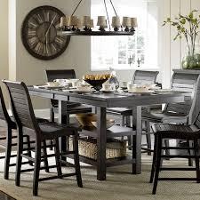 progressive furniture willow counter height dining table progressive furniture willow rectangular counter height dining table