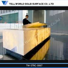 Spa Reception Desk High Gloss Reception Desk Unique Spa Reception Counter Design