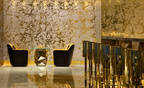 gold on 27 dubai uae interior wallpaper bar interior and bar