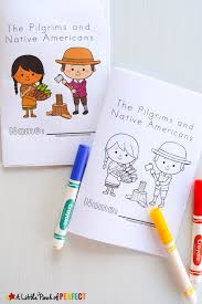 Thanksgiving Stationery Free Thanksgiving Free Printable Easy Reader Book Pilgrims And Native