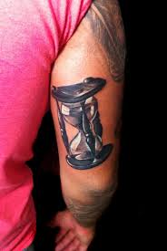 custom hourglass tattoo by drone80 on deviantart