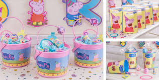 peppa pig birthday supplies peppa pig party favors peppa pig toys party city