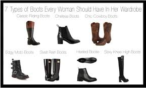 the 7 types of boots every should in wardrobe 5