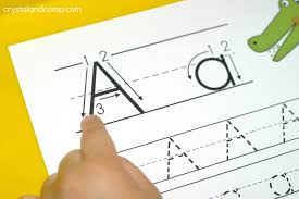 tracing paper for writing practice handwriting practice for kids a is for alligator crystalandcomp com a is for alligator trace the letter