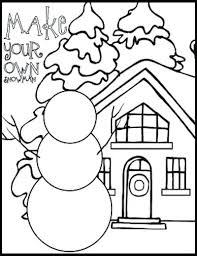 january coloring pages for kindergarten coloring pages january winter coloring pages for preschool winter