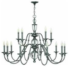 Jefferson 9 Light Chandelier Traditional - hinkley lighting 4959 eleanor 15 light 2 tier candle style
