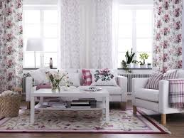 Ikea Pink Curtains 15 Beautiful Ikea Living Room Ideas Hative