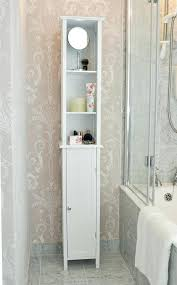 tall white bathroom cabinet s s s tall white gloss bathroom