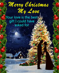 merry christmas my love free love ecards greeting cards 123
