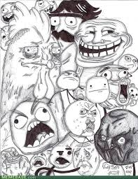 Awesome Meme Face - epic drawings or awesome faces by mrd4rk1 on deviantart