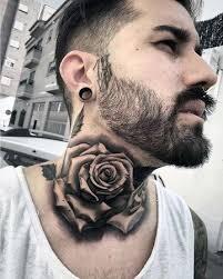 imagenes tatuajes cuello algunos diseños de tatuajes de rosa para hombres tattoo tatoos