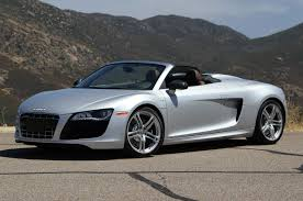 first audi r8 first drive 2011 audi r8 v10 spyder