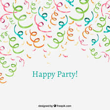 party confetti party confetti vector free