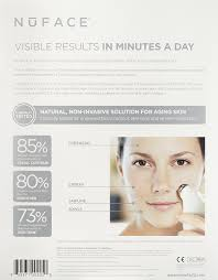 nuface trinity red light reviews amazon com nuface trinity trainer kit with wrinkle reducer
