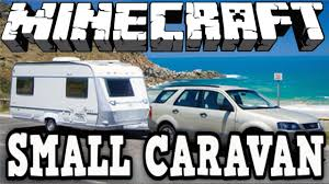 Small Caravan by Minecraft Vehicle Tutorial Small Caravan Youtube