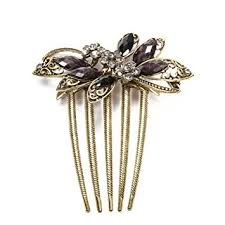 vintage comb hair accessories vintage hair comb bridal butterfly