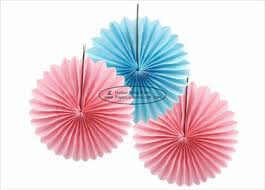 tissue paper fans paper fan decorations on sales quality paper fan decorations
