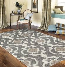 amazon com rugshop cozy moroccan trellis indoor shag area rug 5