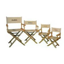 siege metteur en fauteuil metteur en scène enfant 63 x 30 x 37 cm hévéa massif
