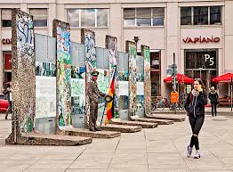 berlin wall sections tourism in berlin a piece of historic berlin wall editorial