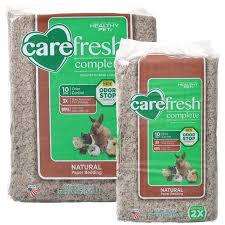 Best Bedding Material Carefresh Carefresh Complete Natural Paper Bedding For Small Pets
