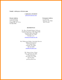 reference template resume reference page resume template resume