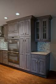 kitchen cabinets gray stain grey stained walnut kitchen cabinetry transitional