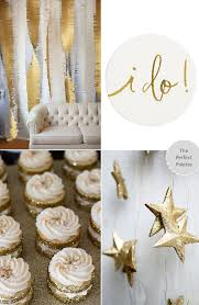 good as gold unique wedding ideas the perfect palette