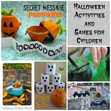 20 halloween activities u0026 games for children saving cent by cent