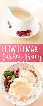 how to make turkey gravy oh so delicioso