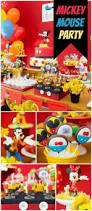 mickey mouse baptism party ideas baptism party dessert table
