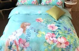 Summer Coverlet King Duvet Chausub Quality Summer Quilt Set 3pcs Purple Cotton Quilts
