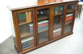 Cherry Wood Bookcase With Doors Bookshelves With Door Image Of Cherry Wood Bookcase With Doors