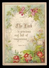 religious card blossom cameo view religious