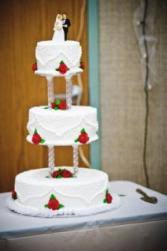 snowflake wedding cakes lovetoknow