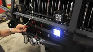 zombie jeep new led u0027s for the zombie jeep bumper from rough country youtube