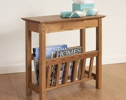 small wood end tables
