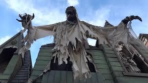 ghost house greeting skeletons loop spooky underworld