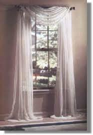 Swag Curtains For Dining Room Liz Claiborne Lisette Sheer Scarf Valance Scarf Valance