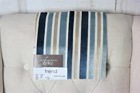 upholstery striped blue fabric by the yard home decor drapery