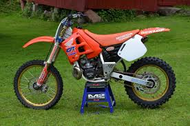motocross bike for sale 1990 cr250r restored bike builds motocross forums message