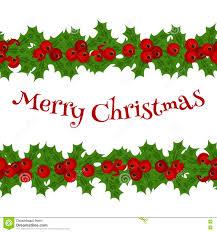 winter holiday christmas garland border u2013 merry christmas u0026 happy