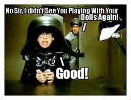 Meme Creator Mobile - meme maker no sir i didn t see you playing with your dolls again