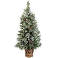 accessories 7ft pre lit tree unlit artificial
