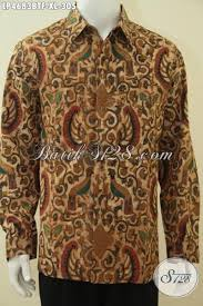 desain baju batik halus busana batik solo kombinasi tulis elegan dan mewah model baju